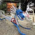 【奈良】少し細めの「四神」像がかわいい「奈良県護国神社」の御朱印