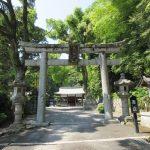 【京都】琵琶の名手・人康親王が座した琵琶石が残る「諸羽神社」の御朱印