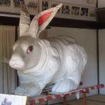 【愛知】うさぎの模様が可愛い「菟足神社」の御朱印とローストビーフいくら丼