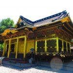 【東京】金色に輝く社殿が美しい「上野東照宮」の御朱印帳と御朱印&とんこつラーメン一蘭