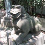 【東京】狛犬の顔がシュールな「市谷亀岡八幡宮」の御朱印