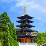 【西国巡礼】Day19.青色の五重塔「青龍塔」が美しい第24番札所「中山寺」の御朱印