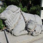 【愛知】境内は可愛らしい羊でいっぱい♪「羊神社」の御朱印