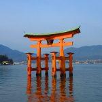【広島】海に浮かぶ朱色の社殿が美しい♪「嚴島神社」の御朱印帳と御朱印【宮島編①】