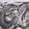 【福井】生命力向上のパワースポット♪「毛谷黒龍神社」の龍が翔る御朱印帳と御朱印