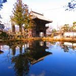 【三重】池に映る仁王門が美しい丹生大師「神宮寺成就院」の御朱印と相可名物「まつかさ餅」