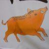 【愛知】猪が足腰を守護する「猪子石神明社」の亥年限定限定の御朱印